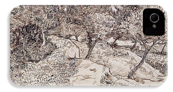 The Olive Trees IPhone 4s Case by Vincent Van Gogh