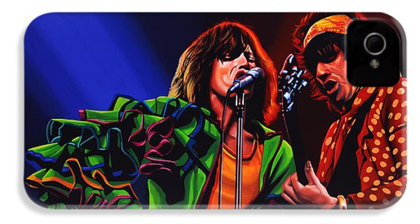 The Rolling Stones 2 IPhone 4s Case by Paul Meijering