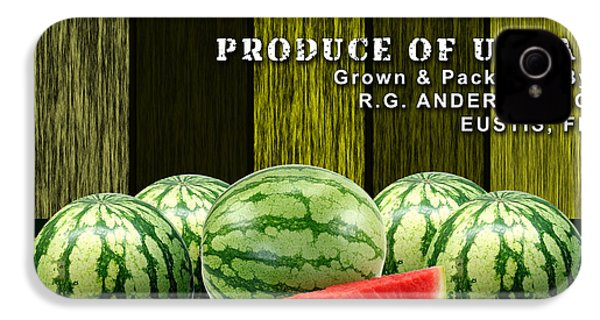 Watermelon Farm IPhone 4s Case by Marvin Blaine