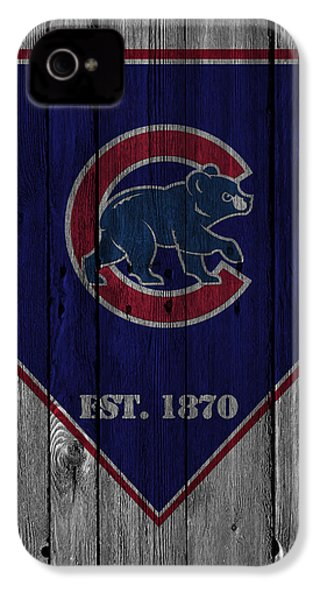 Chicago Cubs IPhone 4s Case by Joe Hamilton