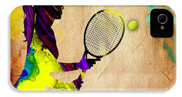 Tennis IPhone 4s Case by Marvin Blaine