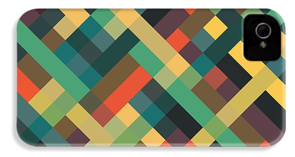 Geometric IPhone 4s Case by Mike Taylor