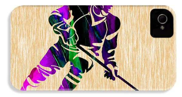 Hockey IPhone 4s Case by Marvin Blaine