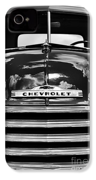 1951 Chevrolet Pickup Monochrome IPhone 4s Case by Tim Gainey