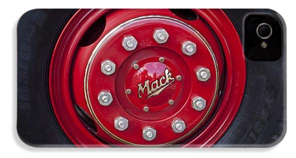 1952 L Model Mack Pumper Fire Truck Wheel IPhone 4s Case