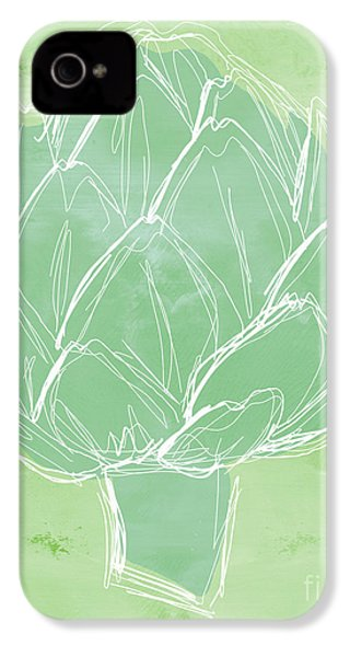 Artichoke IPhone 4s Case by Linda Woods