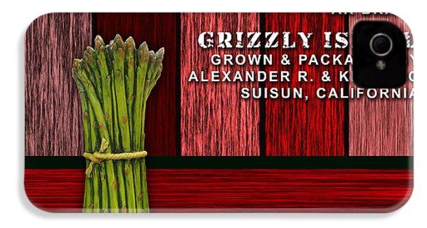 Asparagus Farm IPhone 4s Case