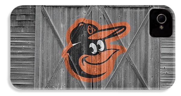 Baltimore Orioles IPhone 4s Case by Joe Hamilton