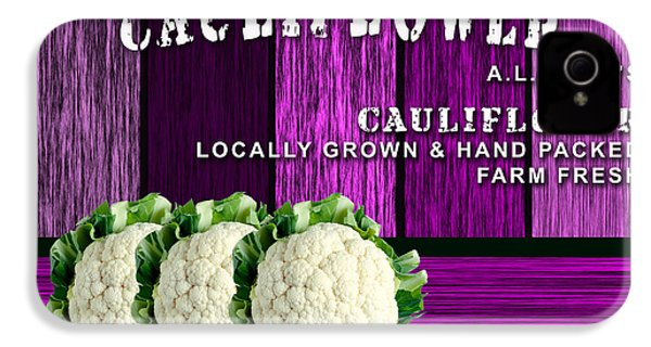 Cauliflower Farm IPhone 4s Case