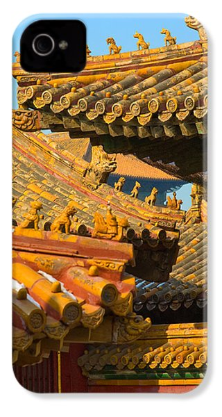 China Forbidden City Roof Decoration IPhone 4s Case by Sebastian Musial