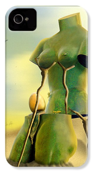 Crutches IPhone 4s Case by Mike McGlothlen