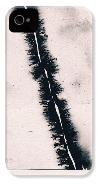IPhone 4s Case featuring the painting Fracture by Marc Philippe Joly