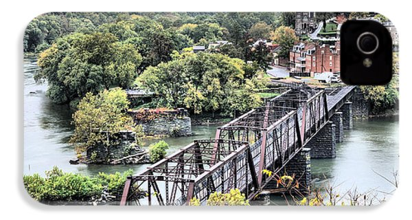 Harpers Ferry IPhone 4s Case by JC Findley