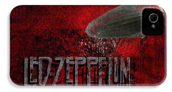 Led Zeppelin IPhone 4s Case by Jack Zulli