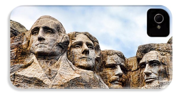 Mount Rushmore Monument IPhone 4s Case by Olivier Le Queinec