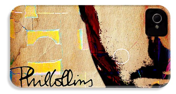 Phil Collins Collection IPhone 4s Case by Marvin Blaine