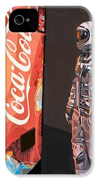 IPhone 4s Case featuring the painting The Coke Machine by Scott Listfield
