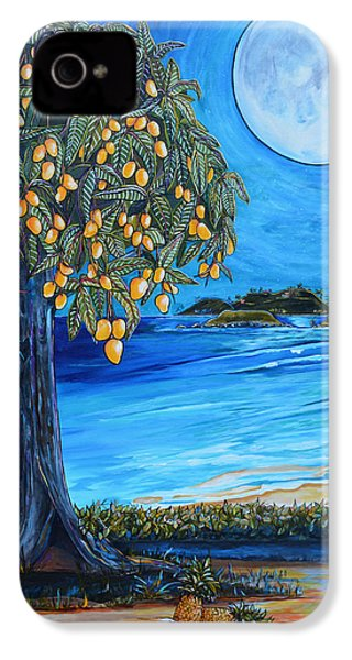 The Mango Tree IPhone 4s Case by Patti Schermerhorn