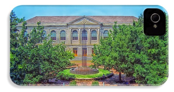 The Old Main - University Of Arkansas IPhone 4s Case by Mountain Dreams