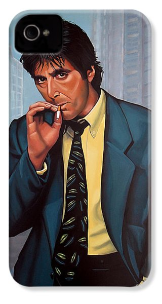 Al Pacino 2 IPhone 4s Case by Paul Meijering