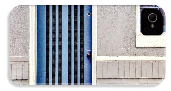 Blue Door IPhone 4s Case