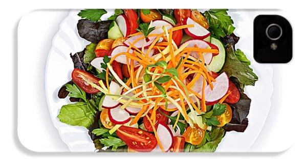 Garden Salad IPhone 4s Case by Elena Elisseeva