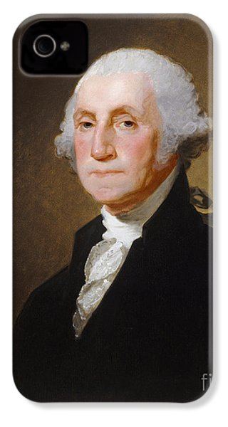 George Washington IPhone 4s Case by Gilbert Stuart