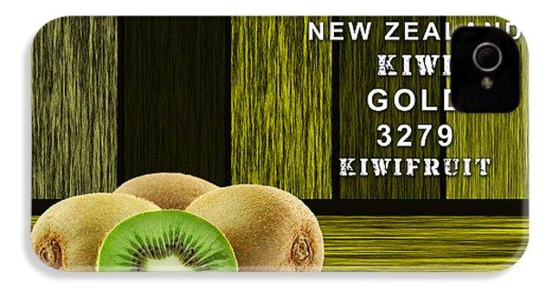 Kiwi Farm IPhone 4s Case by Marvin Blaine