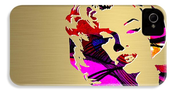 Marilyn Monroe Gold Series IPhone 4s Case