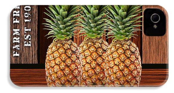 Pineapple Farm IPhone 4s Case by Marvin Blaine