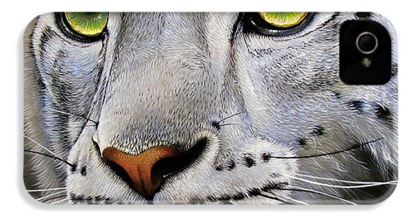 Snow Leopard IPhone 4s Case by Jurek Zamoyski