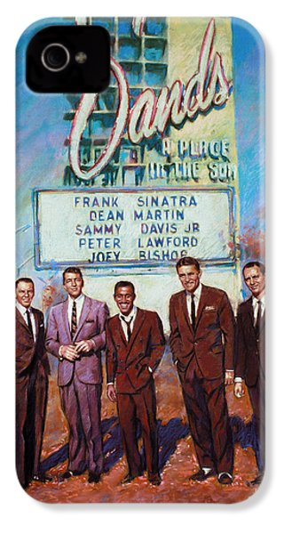 The Rat Pack IPhone 4s Case by Viola El