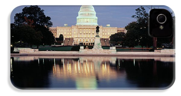 Usa, Washington Dc, Capitol Building IPhone 4s Case by Walter Bibikow