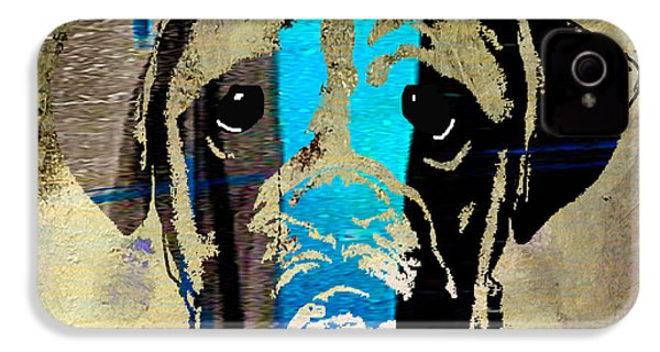 Boxer IPhone 4s Case by Marvin Blaine