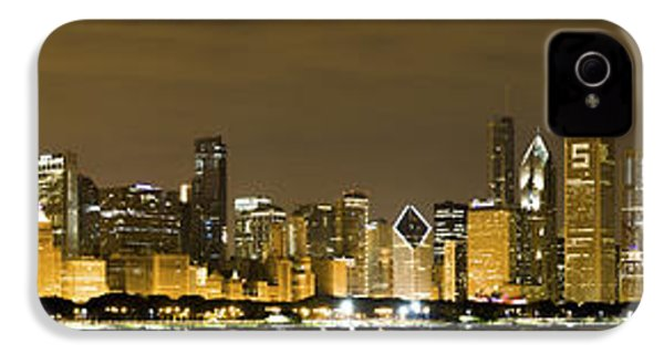 Chicago Skyline At Night IPhone 4s Case