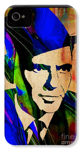 Frank Sinatra Painting IPhone 4s Case by Marvin Blaine