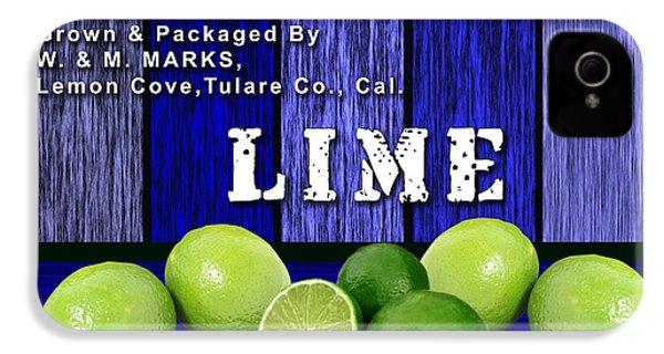 Lime Farm IPhone 4s Case by Marvin Blaine