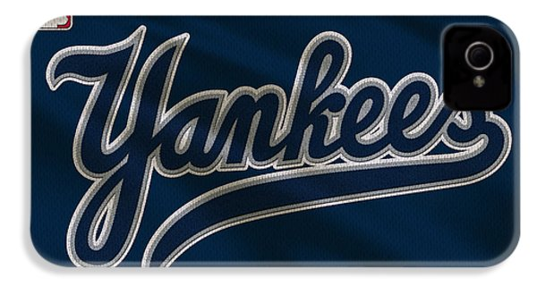 New York Yankees Uniform IPhone 4s Case