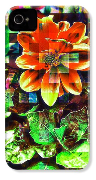 Abstract Flowers IPhone 4s Case