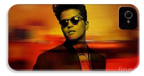 Bruno Mars IPhone 4s Case