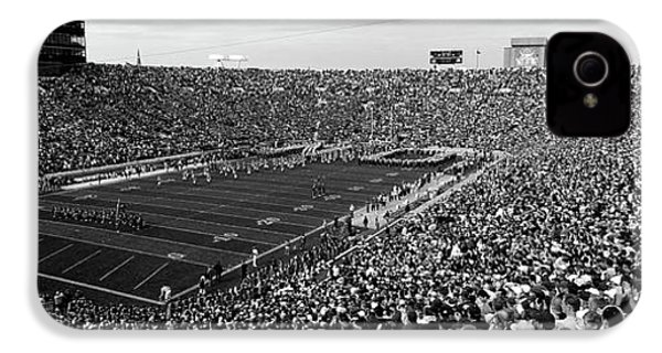 High Angle View Of A Football Stadium IPhone 4s Case by Panoramic Images