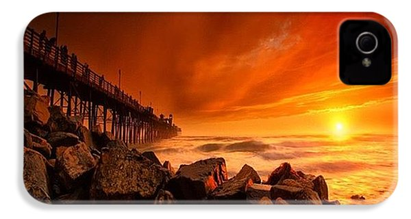 Long Exposure Sunset At A North San IPhone 4s Case by Larry Marshall