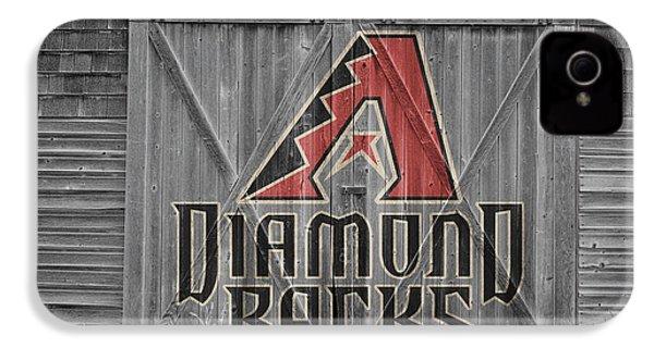 Arizona Diamondbacks IPhone 4s Case by Joe Hamilton