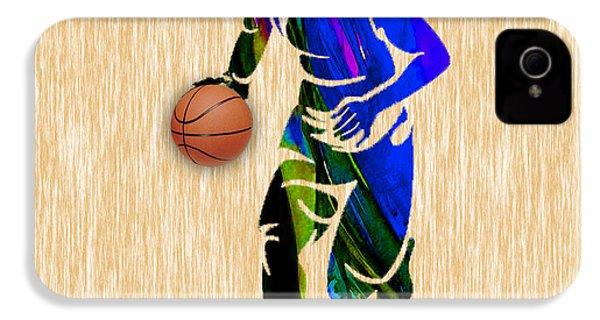 Basketball IPhone 4s Case by Marvin Blaine