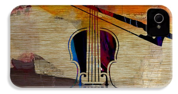 Violin And Bow IPhone 4s Case by Marvin Blaine