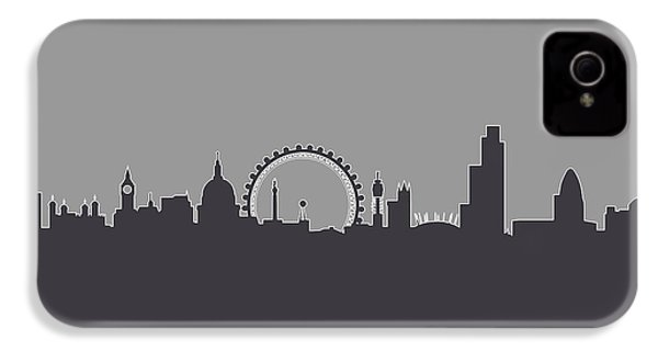 London England Skyline IPhone 4s Case by Michael Tompsett