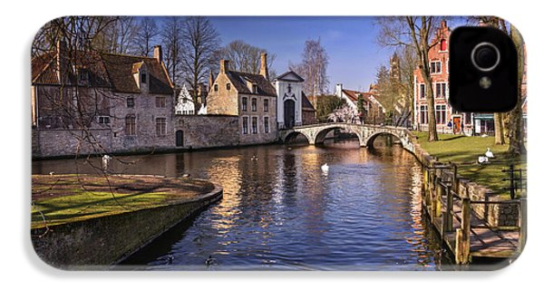 Blue Bruges IPhone 4s Case by Carol Japp