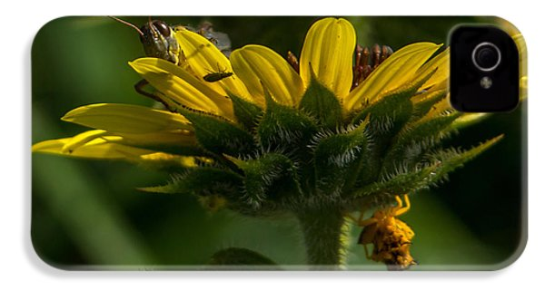 A Bugs World IPhone 4s Case by Ernie Echols