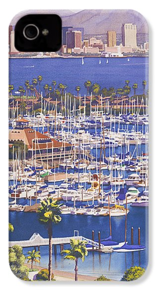 A Clear Day In San Diego IPhone 4s Case by Mary Helmreich