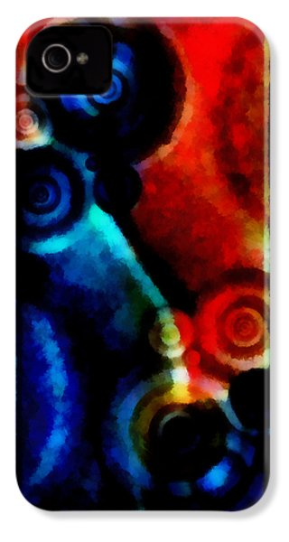 A Drop In The Puddle 1 IPhone 4s Case by Angelina Vick